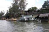 Historic wharf at Port of Echuca